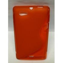 Protector Tpu Sony Ericcson Xperia Miro St23i Rojo