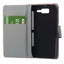 Funda Flip Negra Motorola Razr D3 Xt919