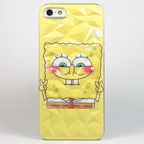 Funda Bob Esponja Case Efecto 3d Para Iphone 5 5s