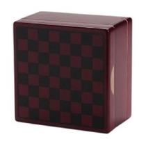 Caja De Madera De Cerezo Polen Tough 4 X 4 X 3 Con Bandeja