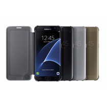Galaxy S7 Edge Case Sview Clear Flip Cover Samsung Funda