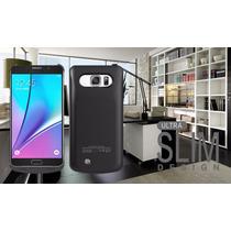 Funda Bateria Cargador Galaxy Note 5 + Mica De Regalo