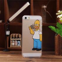 Funda Carcasa De Homero Simpson Para Iphone 5 / 5s