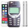 Funda Case Iphone 6 / 6s Funda Nokia Super Nintendo Retro