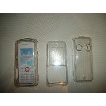 Wwow 2 Crystal Case Sony Ericsson W200 Excelentes!!!