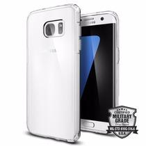 Funda Spigen Ultra Hybrid Sam Galaxy S7 Edge - Crystal Clear