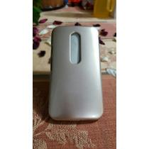 Funda Dorada Terminado Metalico Para Motorola Moto G3