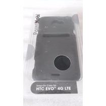 Case Plástico Duro Para Celular Htc Evo 4g Lte Color Negro