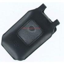 Funda De Piel Para Blackberry 8220
