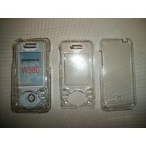 Wwow 2 Crystal Case Para Sony Ericsson W580!!!