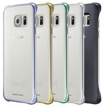 Funda Samsung Galaxy S6 Edge Protective Cover Clear Original
