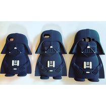 Lote 6 Fundas Darth Vader Para Galaxy, Iphone, Lg Star Wars