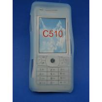 Silicon Skin Case Para Sony Ericsson C510 Color Azul
