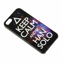 Funda Keep Calm And Be Han Solo Star Wars Iphone 5 5s