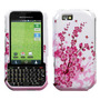 Funda Protector Motorola Titanium I1x Blanco Con Rosas