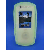 Silicon Skin Case Para Sony Ericsson W900 Color Verde