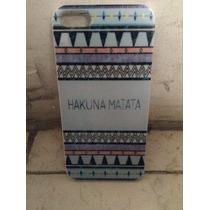 Carcasa Protectora Iphone 5 O 5s Diseño Hakuna Matata Huí Ún