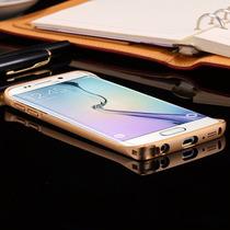 Samsung S6 Bumper Aluminio Metal Dale Toque Diferente+mica