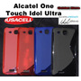 Alcatel One Touch Idol Ultra 6033 Funda Silicon Hibrido Slim