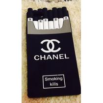 Funda Cigarrera Chanel Iphone 4, Iphone 5, Iphone 6 Y Plus