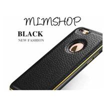 Luxury Case Funda Aluminio Y Piel Apple Iphone 5s 6 6s Plus