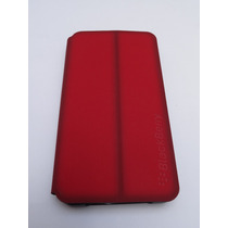 Blackberry Z10 Funda Original Flip (rojo Oscuro)