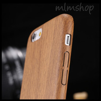 Funda Pu Cuero Estilo Madera Bamboo Iphone 6/6s/6 6s Plus