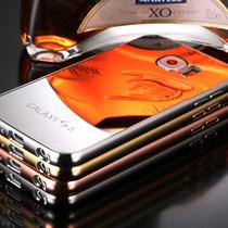 Bumper De Lujo Aluminio Para Galaxy S6 Y S6 Edge + Mica