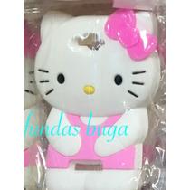 Funda C7 Hello Kitty 3d Alcatel Silicon Rosa Protector Case