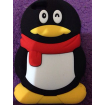 Hermosa Funda De Pingüino Para Iphone 4/4s