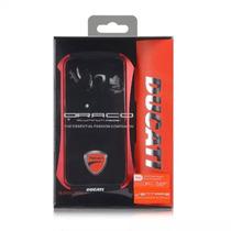 Ducati Rojo Y Vidrio Templado, Para Tu Iphone 6 Plus!
