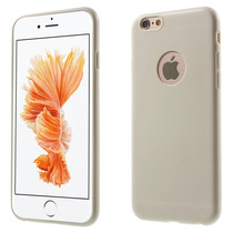 Funda Ultra Delgada Suave Al Tacto: Beige Iphone 6s (acro)