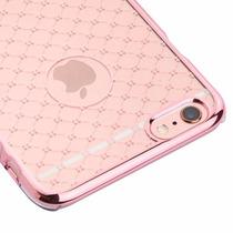 Funda Case Protector Transparente Iphone 6 6s Rose Gold Lace