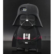 Funda Iphone 6 6s Plus Starwars Darth Vader Silicon