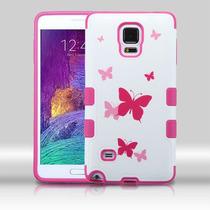 Funda Protector Triple Layer Samsung Galaxy Note 4 Blanco /