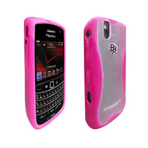 Oem Verizon Dual Cubierta Caso Para Blackberry Audaz 9650 /