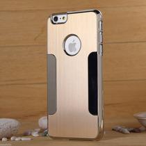 Iphone 6 6s Tapa Trasera Aluminio Cromado Mica Stylus Pluma