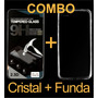 Kit Cristal Templado Con Funda Crystal Case Lg Pro Lite