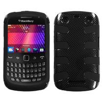 Funda Protectora Blackberry Curve 3 9360 Negro Mixto