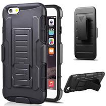Funda Clip Uso Rudo Hibrido 3 En 1 Iphone 5 - 5s
