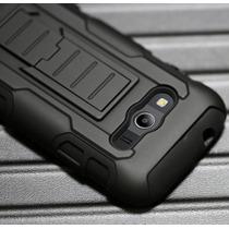 Funda Clip Uso Rudo Hibrido 3 En 1 Armor Galaxy Ace 4 G313
