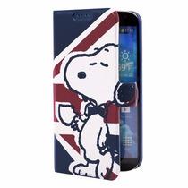 Samsung Galaxy S4 Cartera Snoopy Protector Original Holster