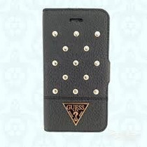 Funda Tipo Cartera Guess Con Estoperoles Original Iphone 5