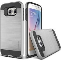 Verus Samsung Galaxy S6 Protector Verge Color Plateado