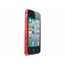 Bumper Love Mei De Aluminio Rojo Para Iphone 4g 4s