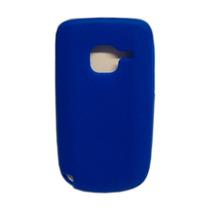 Funda Silicon Azul Nokia C3