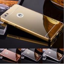 Funda Huawei P8 Lite (g Elite L23) Bumper Aluminio Espejo