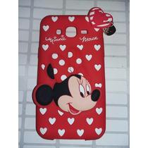 Protector Goma 3d Sullivan Minnie Mouse Samsung Galaxy J5