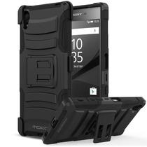Case Funda Holster Clip P Sony Xperia Z5 Bumper Stand Kick