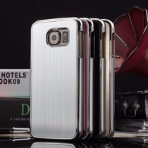 Samsung Galaxy S6 Funda Tapa Trasera Aluminio Metal+mica